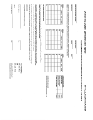 """End of the Month Confirmation Report Form - Official Court Reporter"" - Arkansas"