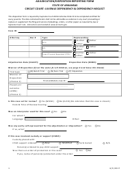 """Adjudication/Disposition Reporting Form - Juvenile Dependency & Dependency-Neglect"" - Arkansas"