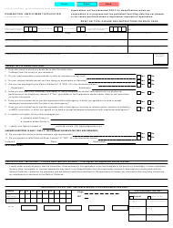 Form STD.678 Examination / Employment Application - California
