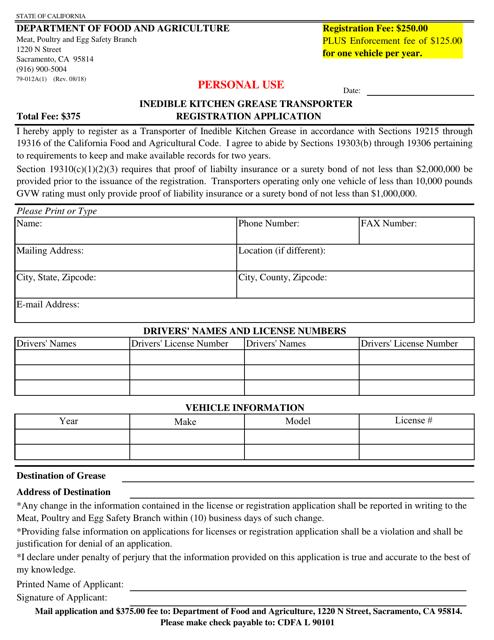 Form 79-012A(1) Fillable Pdf