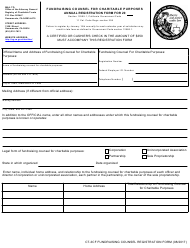 "Form CT-3CF ""Annual Registration Form - Fundraising Counsel for Charitable Purposes"" - California"