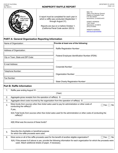 Form CT-NRP-2  Printable Pdf