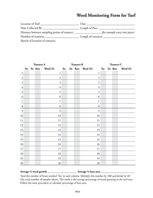 Form M-4  Printable Pdf