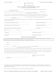 "Form VS124 ""Power of Attorney: California Marriage License"" - California"