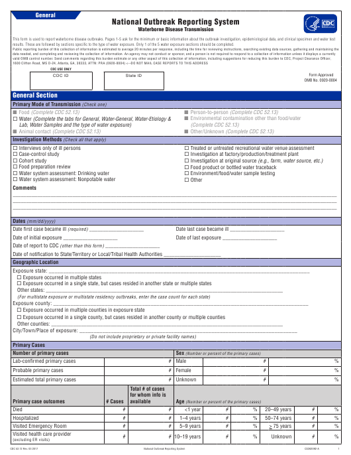 Form CDC52.12  Printable Pdf