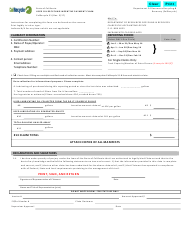 "Form CalRecycle31 ""Used Oil Recycling Incentive Payment Claim"" - California"