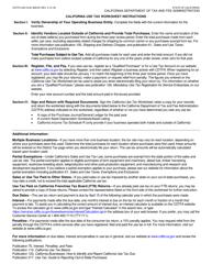 "Form CDTFA-403-CLW ""California Use Tax Worksheet"" - California, Page 2"