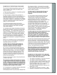 """""""Nonemergency Hazardous Substance Release Report Form"""" - California, Page 3"""