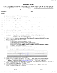"""""""Catalog Checklist"""" - Colorado"""