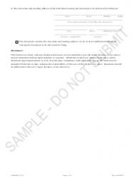 """""""Articles of Organization - Limited Cooperative Association - Sample"""" - Colorado, Page 3"""