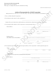 """Articles of Incorporation for a Profit Corporation - Public Benefit Corporations - Sample"" - Colorado"