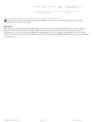 """""""Statement of Correction Correcting a Mistakenly Filed Domestic Entity That Was Meant to Be a Different Form of Domestic Entity - Article 55 Cooperative Association as a Public Benefit Corporation"""" - Colorado, Page 2"""