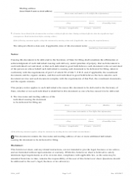 """""""Statement Appointing an Agent"""" - Colorado, Page 2"""