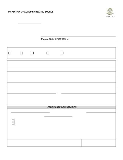 Form DCF-446  Printable Pdf