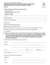 Form DCF-2210 B  Fillable Pdf