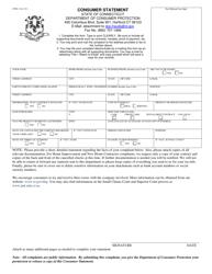 Form CPFR-2 General Complaint Form - Connecticut