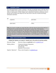 2018 Public Health Fee Assessment Request - Connecticut, Page 2