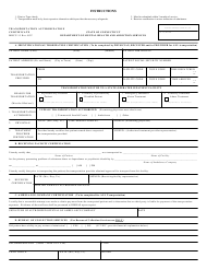 "Form MHCC-15 ""Transportation Authorization Certificate"" - Connecticut"