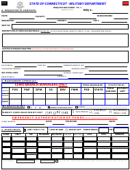"Form Pc-1 ""Requisition Form"" - Connecticut"