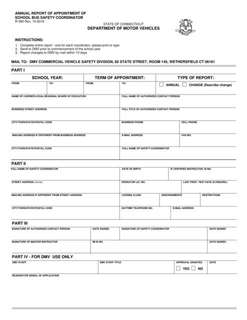 Form R-390  Printable Pdf