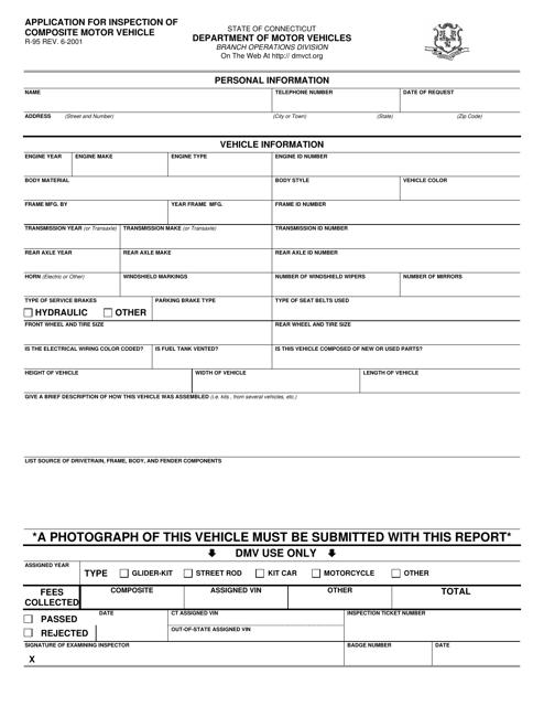 Form R-95  Printable Pdf