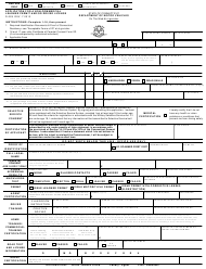 "Form R-229 ""Application for a Non-commercial Learner Permit and/Or Driver License"" - Connecticut"