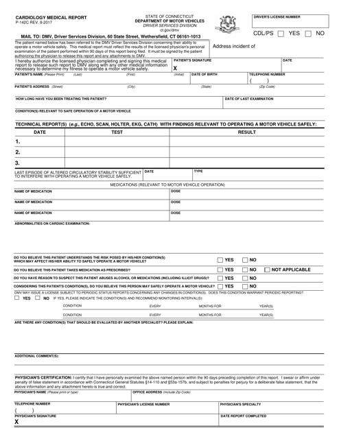 Form P-142C  Printable Pdf