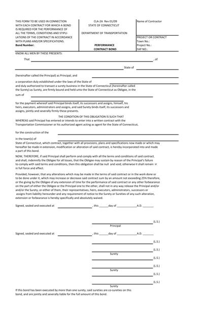 Form CLA-2A  Printable Pdf