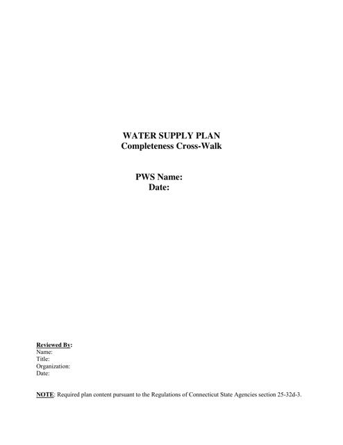 Form DPH-DWS-WSPX  Printable Pdf