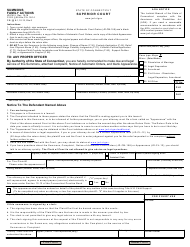 "Form Jd-Fm-3 ""Summons, Family Actions"" - Connecticut"