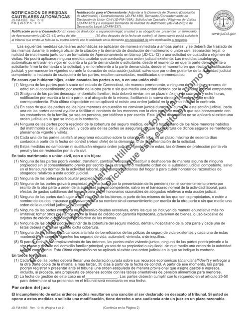Formulario JD-FM-158S  Printable Pdf
