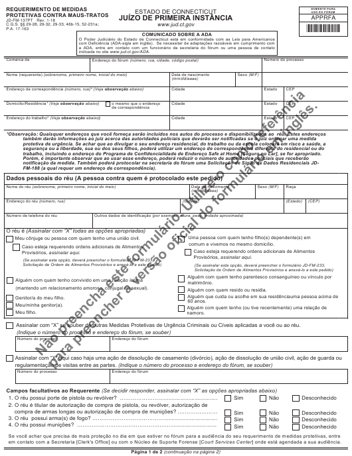 Form JD-FM-137PT Printable Pdf
