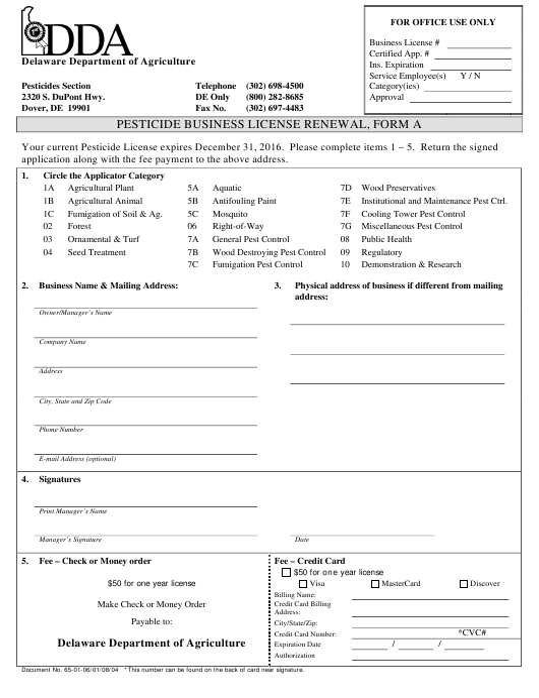 Form A  Printable Pdf