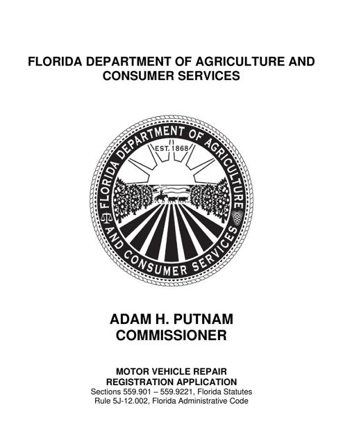 Form FDACS-10900 Printable Pdf