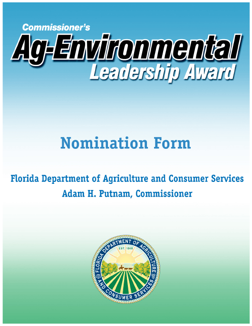 Form FDACS-01795  Printable Pdf