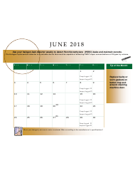 2018 Perchloroethyle Dry Cleaner Compliance Calendar - Florida, Page 15
