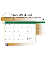 2018 Perchloroethyle Dry Cleaner Compliance Calendar - Florida, Page 25