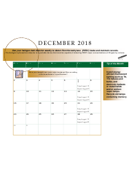 2018 Perchloroethyle Dry Cleaner Compliance Calendar - Florida, Page 27