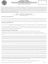 "Form DH4057 ""Application for Variance From Chapter 64e-6, Fac"" - Florida"