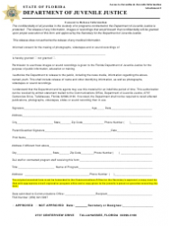Consent To Release Information - Florida