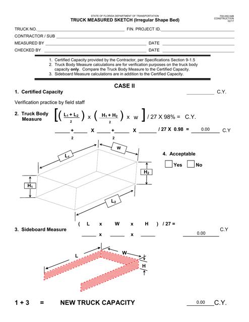 Form 700-050-54B  Printable Pdf