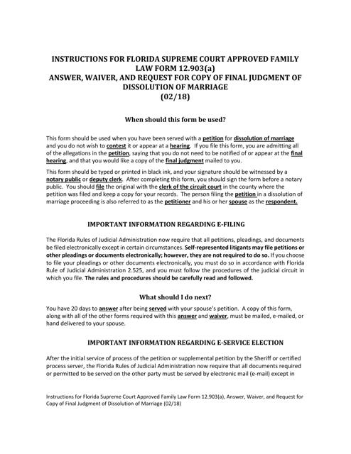 Form 12.903(A)  Printable Pdf