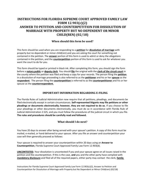 Form 12.903(C)(2)  Printable Pdf