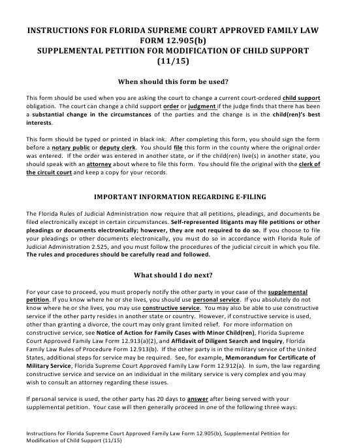 Form 12.905(B)  Printable Pdf