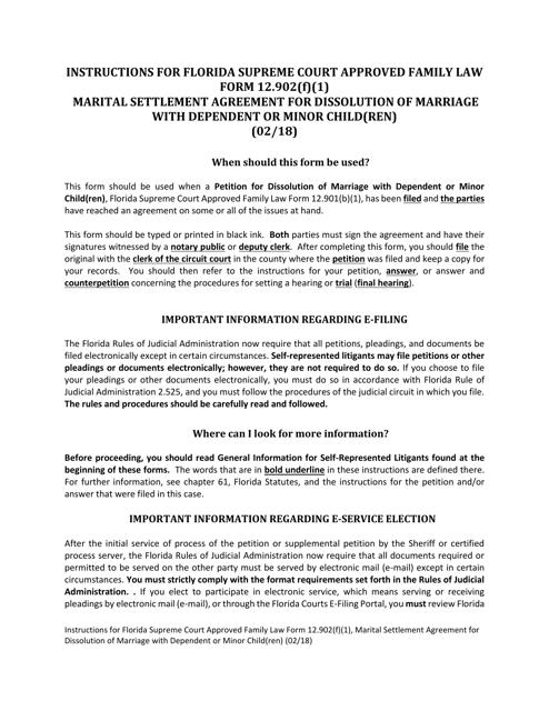 Form 12.902(F)(1)  Printable Pdf
