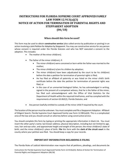 Form 12.913(A)(3)  Printable Pdf