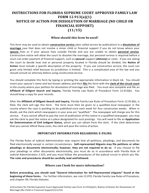 Form 12.913(A)(1)  Printable Pdf