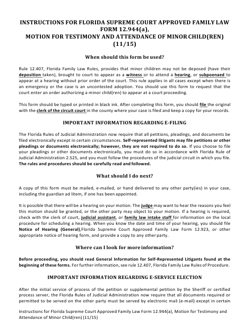 Form 12.944(A)  Printable Pdf