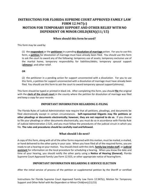 Form 12.947(C)  Printable Pdf