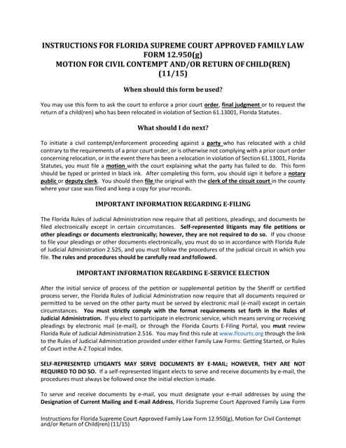 Form 12.950(G)  Printable Pdf